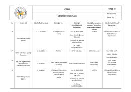 etkinlik takvimi - Uludağ Üniversitesi | Teknoloji Transfer Ofisi