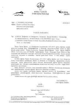 .r Å _. TİC - Bursa İl Milli Eğitim Müdürlüğü