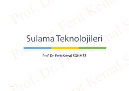 File - Prof. Dr. Ferit Kemal Sönmez