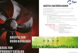 Genel Ürün Kataloğu C-Fan CFA 4E 450 SC 1.390 Devir Fan Motoru