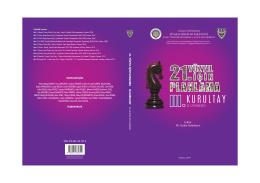 Bildiri Kitabı - Siyasal Bilgiler Fakültesi