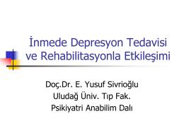Antidepresanlarla İlaç Etkileşimleri