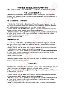 için tıklayın - Türkiye Binicilik Federasyonu