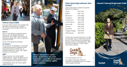 Turkish - Guide Dogs NSW/ACT