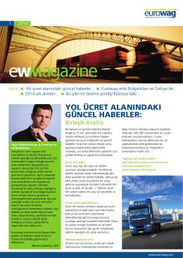 EW dergisi - EUROWAG.COM