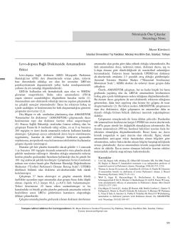 Nörolojide Öne Çıkanlar Neurology News Levo