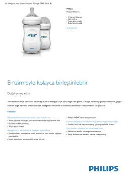 Product Leaflet: 2 Natural biberon 260 ml/9 oz Natural