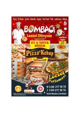 Tavuk Döner - Bombacı Fast Food
