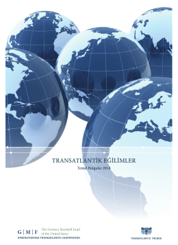 transatlantik eğilimler - German Marshall Fund of the United States