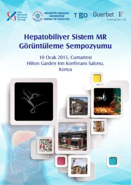 Hepatobiliyer Sistem MR Görüntüleme Sempozyumu