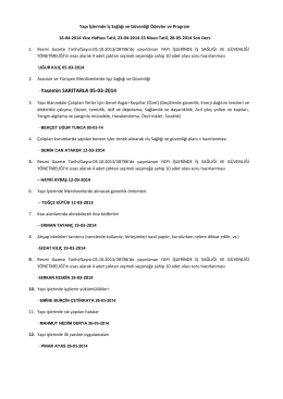 - Yasemin SARITARLA 05-03-2014