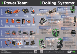powerteam.com spxboltingsystems.com