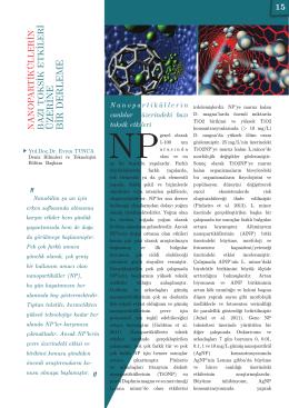 06. nanopartiküllerin bazı toksik etkileri
