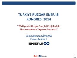 ECA Finansmanı - Türkiye Rüzgar Enerjisi Kongresi