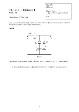 Elektronik I