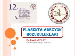PLASENTA ADEZYON BOZUKULUKLARI IIc