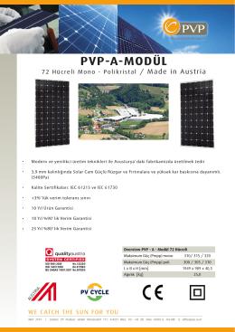 PVP-A-MODÜL