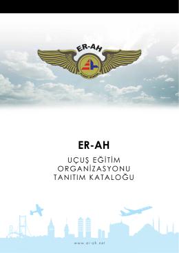 uçuş eğitim organizasyonu tanıtım kataloğu - Er