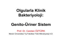 Olgularla Klinik Bakteriyoloji: Genito