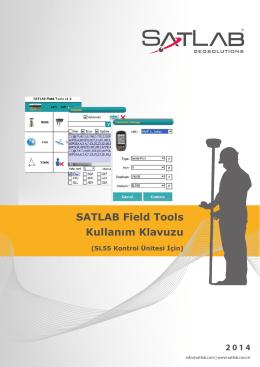 SATLAB Field Tools Kullanım Klavuzu