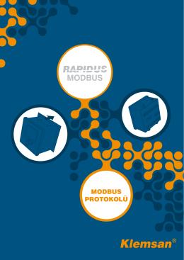 RAPIDUS Modbus Protokolü