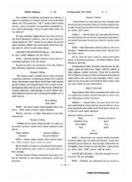 Meclisi Mebusan 16 Kânunusâni 1332 (1916) C : 1 İşte, madem ki