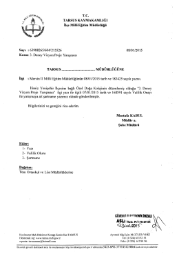 tQ^/.o:U201?r - tarsus ilçe millî eğitim müdürlüğü