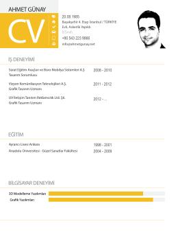 CV İndİr (PDF)