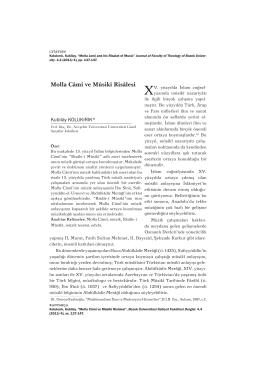 Full Text - Bozok Üniversitesi   İlahiyat Fakültesi