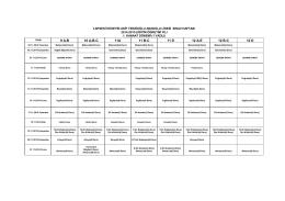 2014-2015 öğretim yılı 1.kannat dönemi sınav tarihleri 1