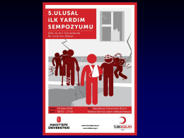Doç Dr. Gürkan ERSOY - Dokuz Eylül Üniversitesi
