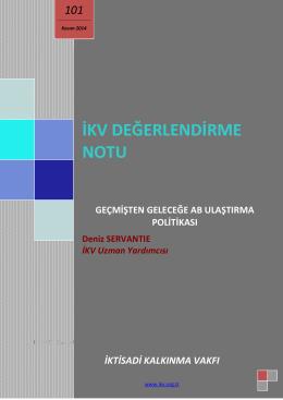 GEÇMİŞTEN GELECEĞİ AB ULAŞTIRMA POLİTİKASI_editli