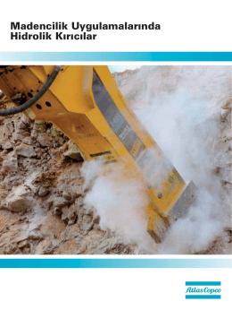 madencilik uygulamalarında hidrolik kırıcılar.catalog.tr