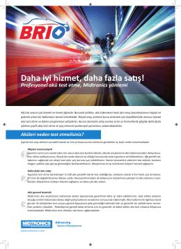 Why batt testing leaflet BRIO TR.indd