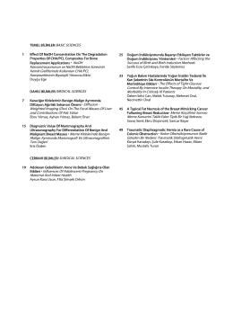 Konsantrasyonunun ve NaOH Bekletme Süresinin Kemik