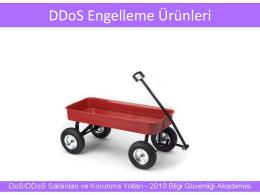 DDoS Engelleme Ürünleri