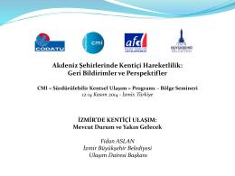 İzmir Ulaşım Ana Planı (2014)