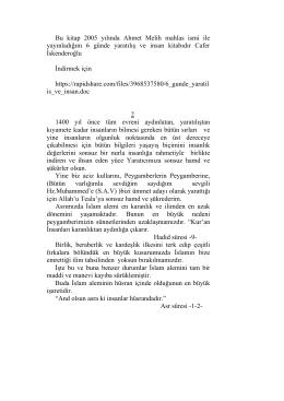 Bu kitap 2005 yılında Ahmet Melih mahlas ismi ile