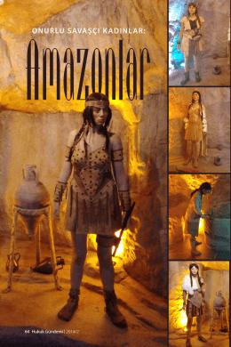 Onurlu Savaşçı Kadınlar Amazonlar