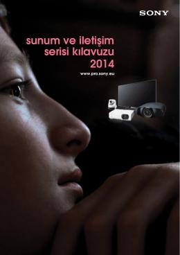 sunum ve iletişim serisi kılavuzu 2014