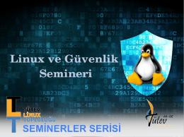 linux_ve_güvenlik_semineri_tütev_2015