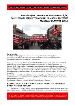mücadele s - İstanbul Indymedia