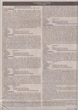 TC İSKENDERUN 4. İCRA DAİRESİ 2011/6112 ESAS