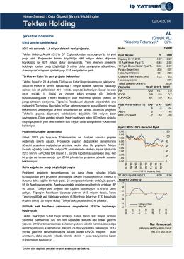 02/04/2014 - İş Yatırım
