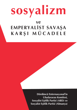 sosyalizm - Toplumsal Eşitlik