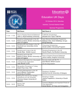 Education UK Days - British Council