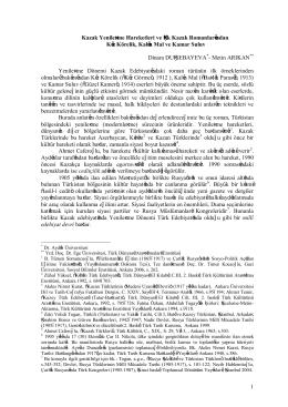 1 Kazak Yenileşme Hareketleri ve İlk Kazak Romanlarından Kız