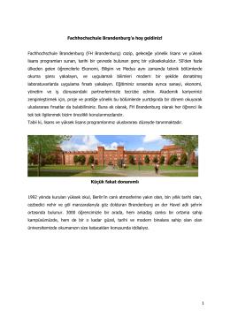 Willkommen an der Fachhochschule Brandenburg