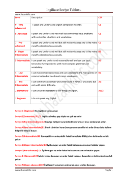 Worksheet Calisma Kagidi