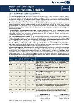 Türk Bankacılık Sektörü